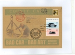 James Cauty CNPD First Day Covers bad car bad art