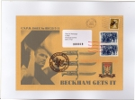 James Cauty CNPD First Day Covers beckham gets it