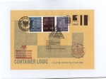 James Cauty CNPD First Day Covers container logic