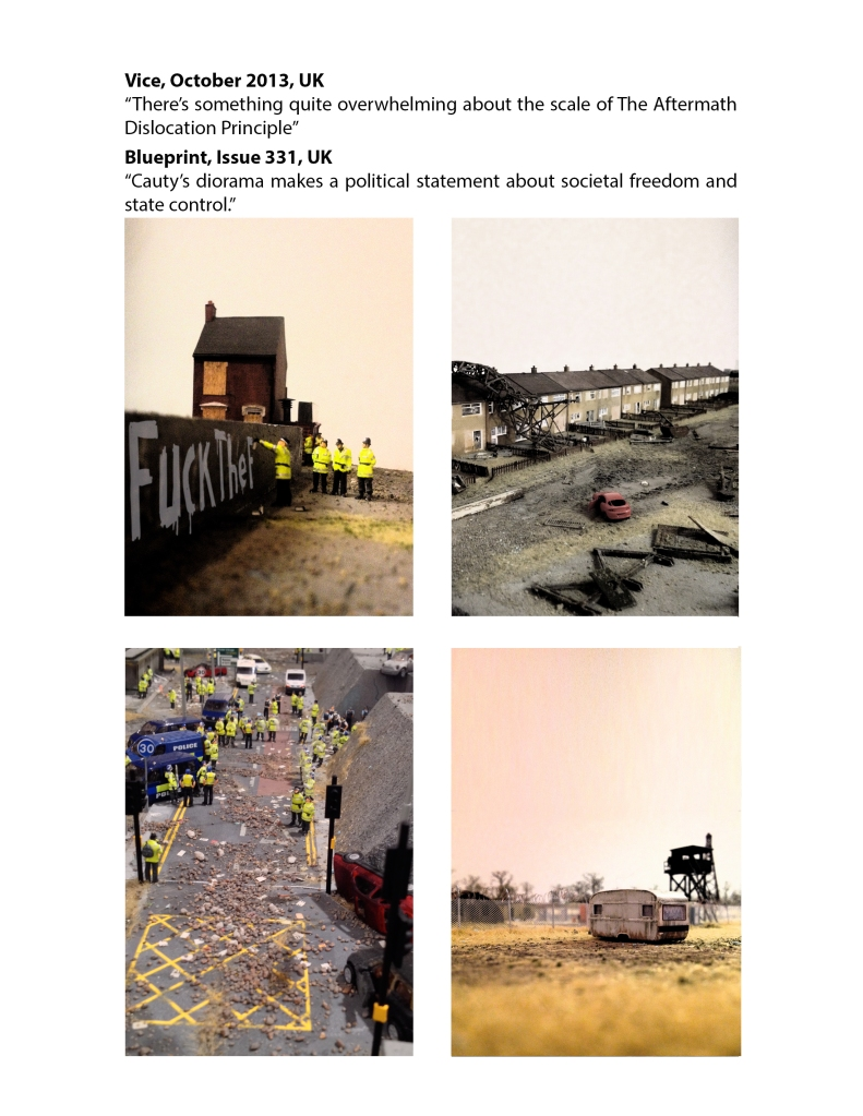 James Cauty Aftermath Dislocation Principle miniature riot page 5