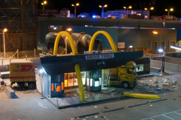 McDonalds Drive Thru credits Thomas Mayer